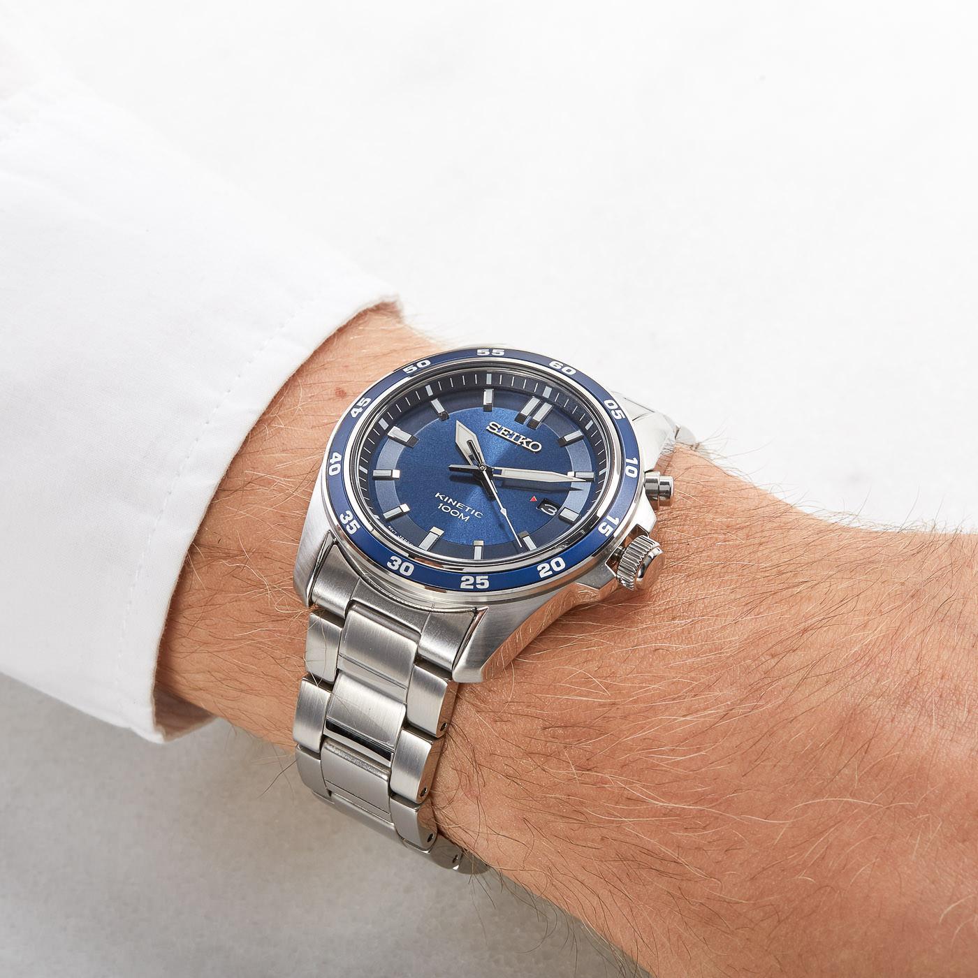 Onwijs Seiko Kinetic horloge SKA783P1 NV-25