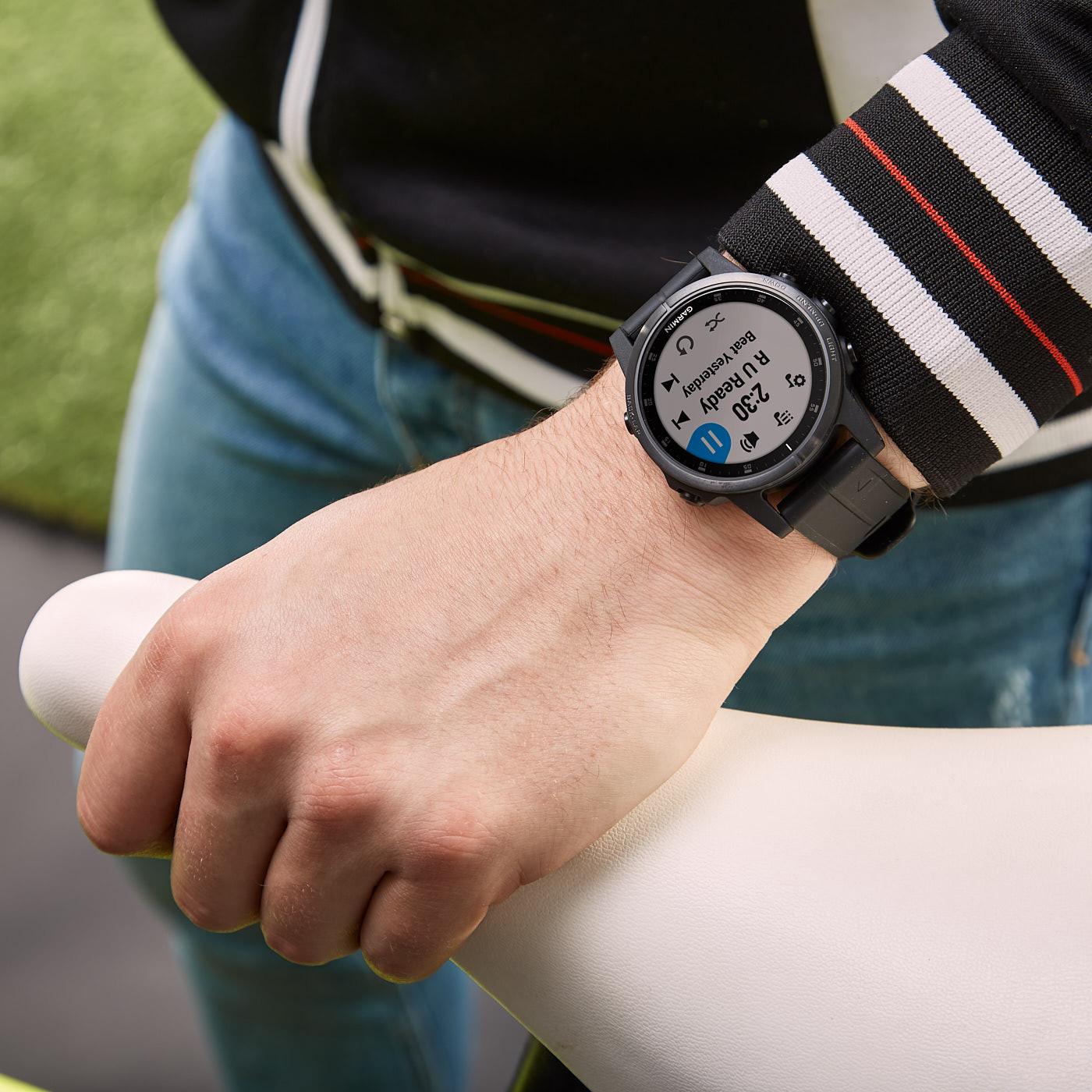 Garmin Fenix 5S Plus Sapphire Smartwatch 010-01987-03 (42 mm)