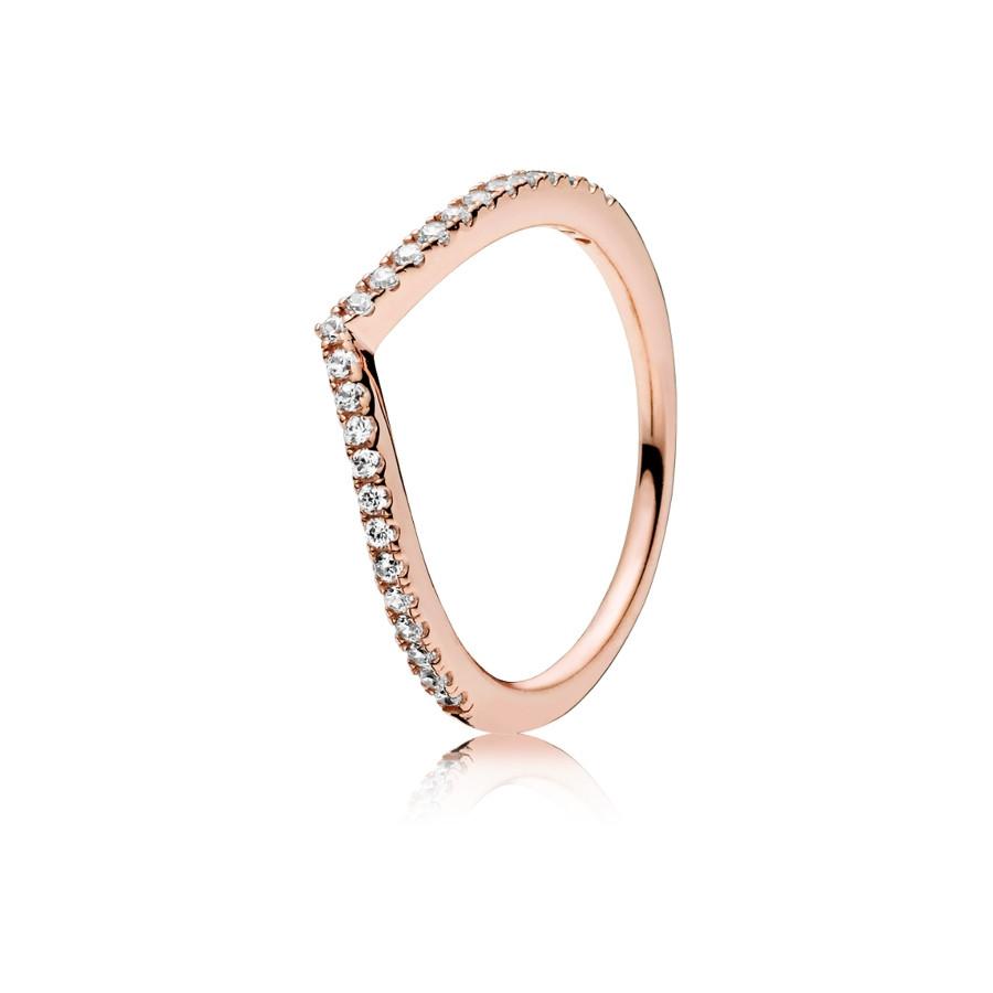 Pandora Stories Zilveren Shimmering Wish Ring 186316CZ