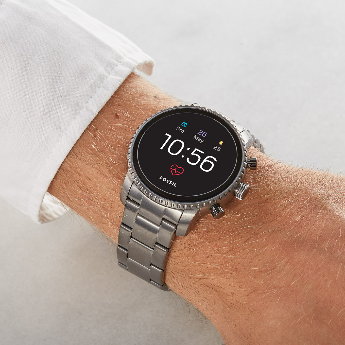 Fossil Q Explorist Gen 4 Display Smartwatch FTW4012