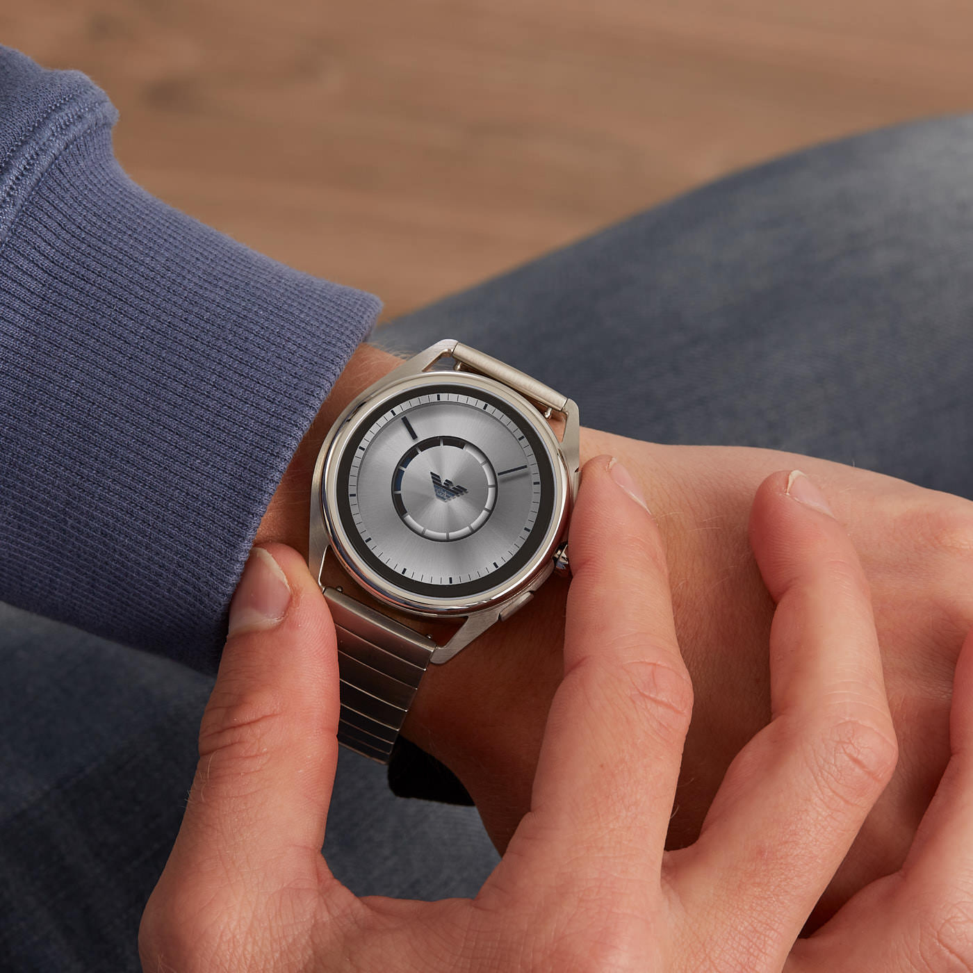 Emporio Armani Connected Matteo Gen 4 Display Smartwatch ART5006