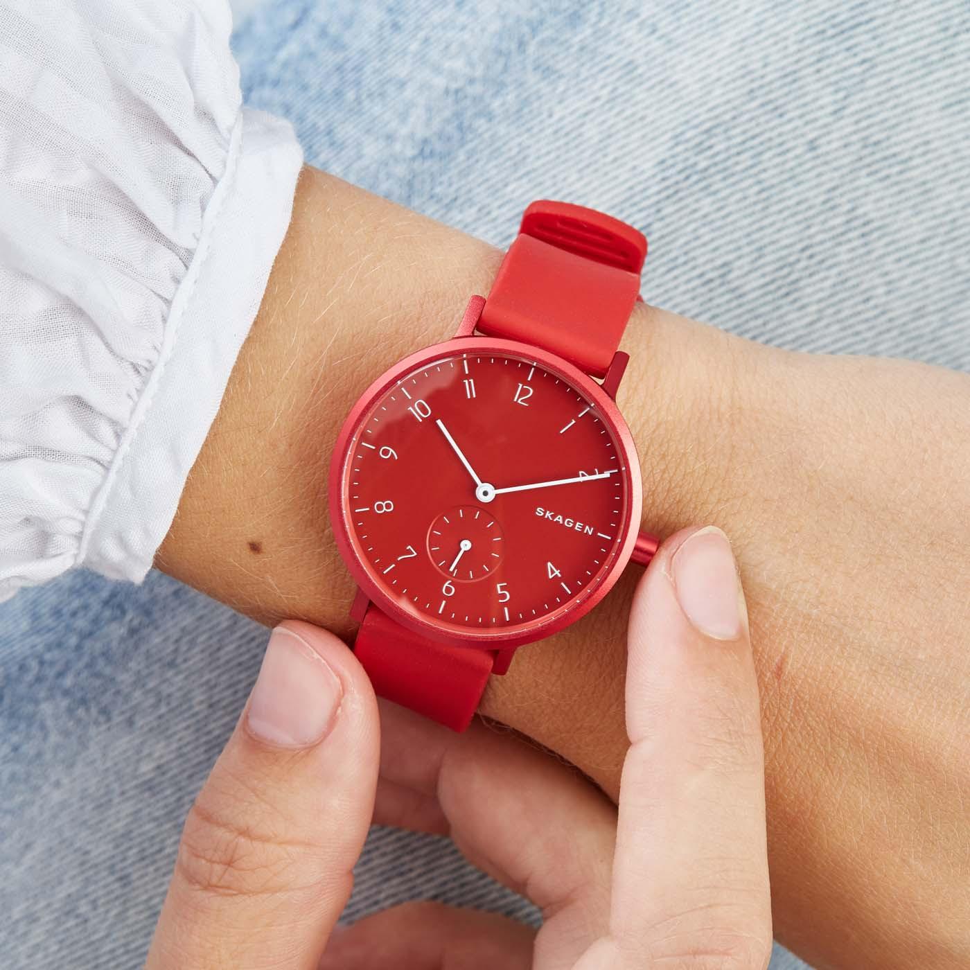 Skagen Aaren horloge SKW2765