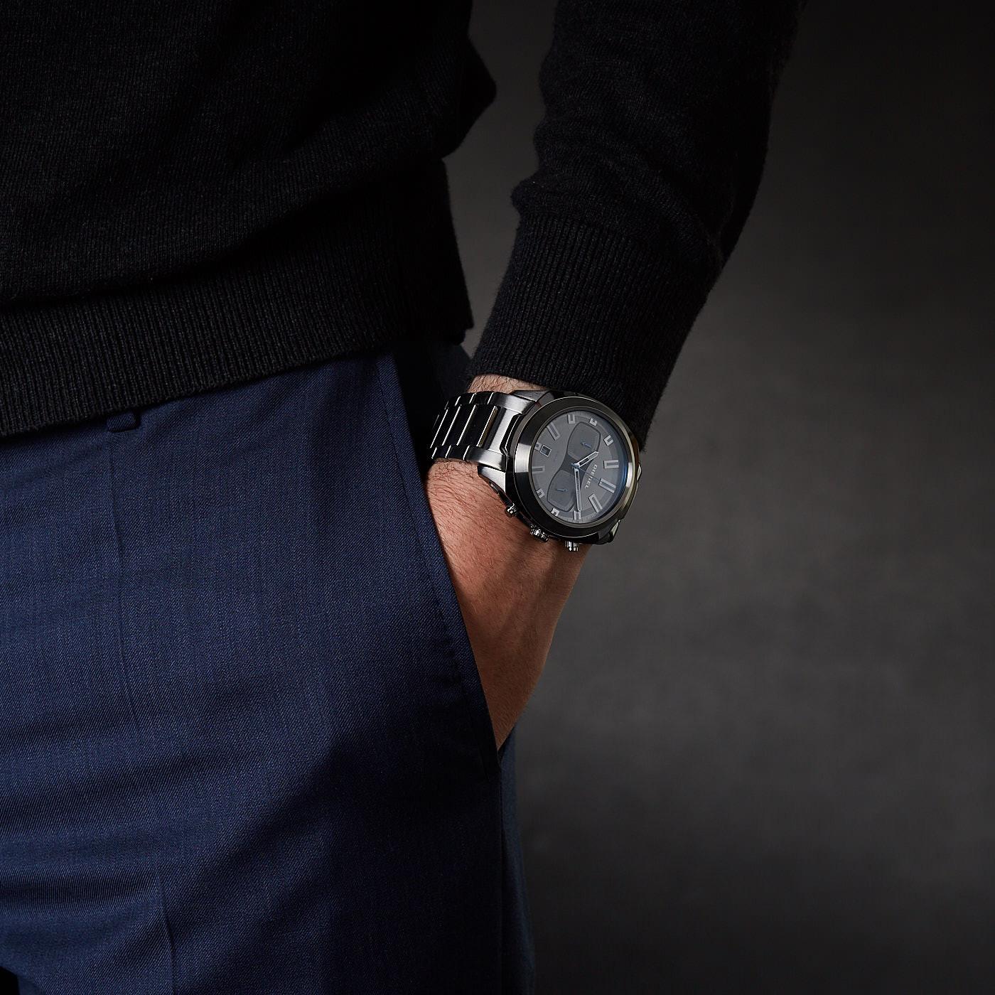 Diesel Tumbler Chronograaf horloge DZ4510