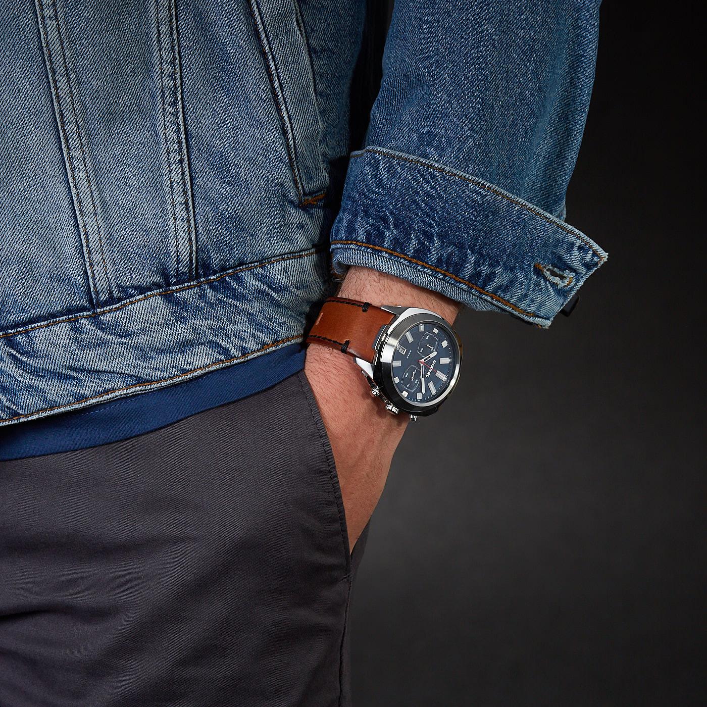 Diesel Tumbler Chronograaf horloge DZ4508