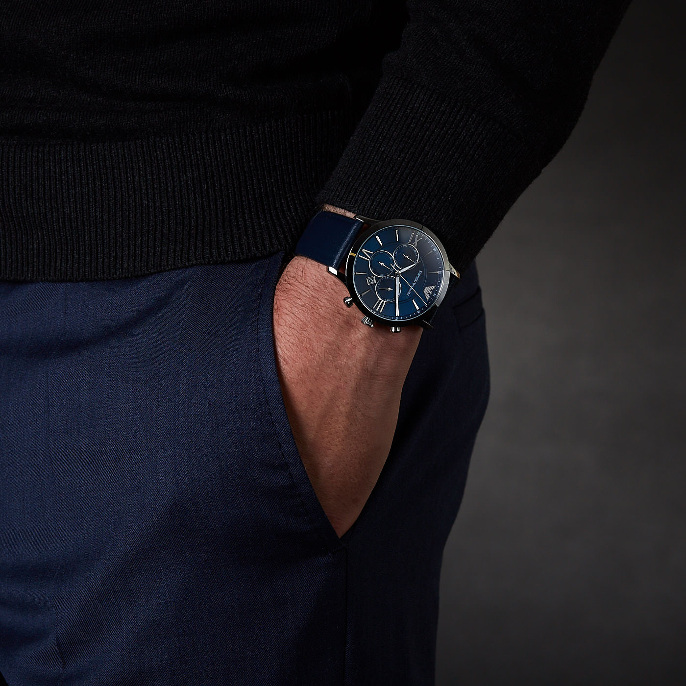 Emporio Armani Chronograaf horloge AR11226