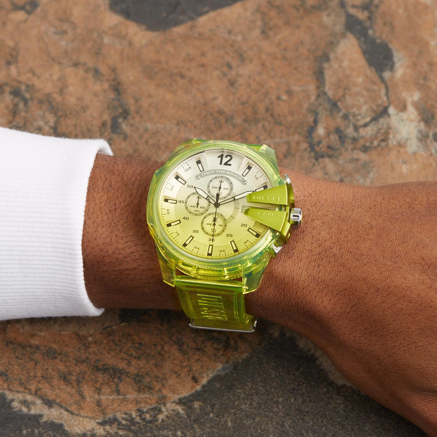 Diesel Mega Chief Chronograaf horloge DZ4532