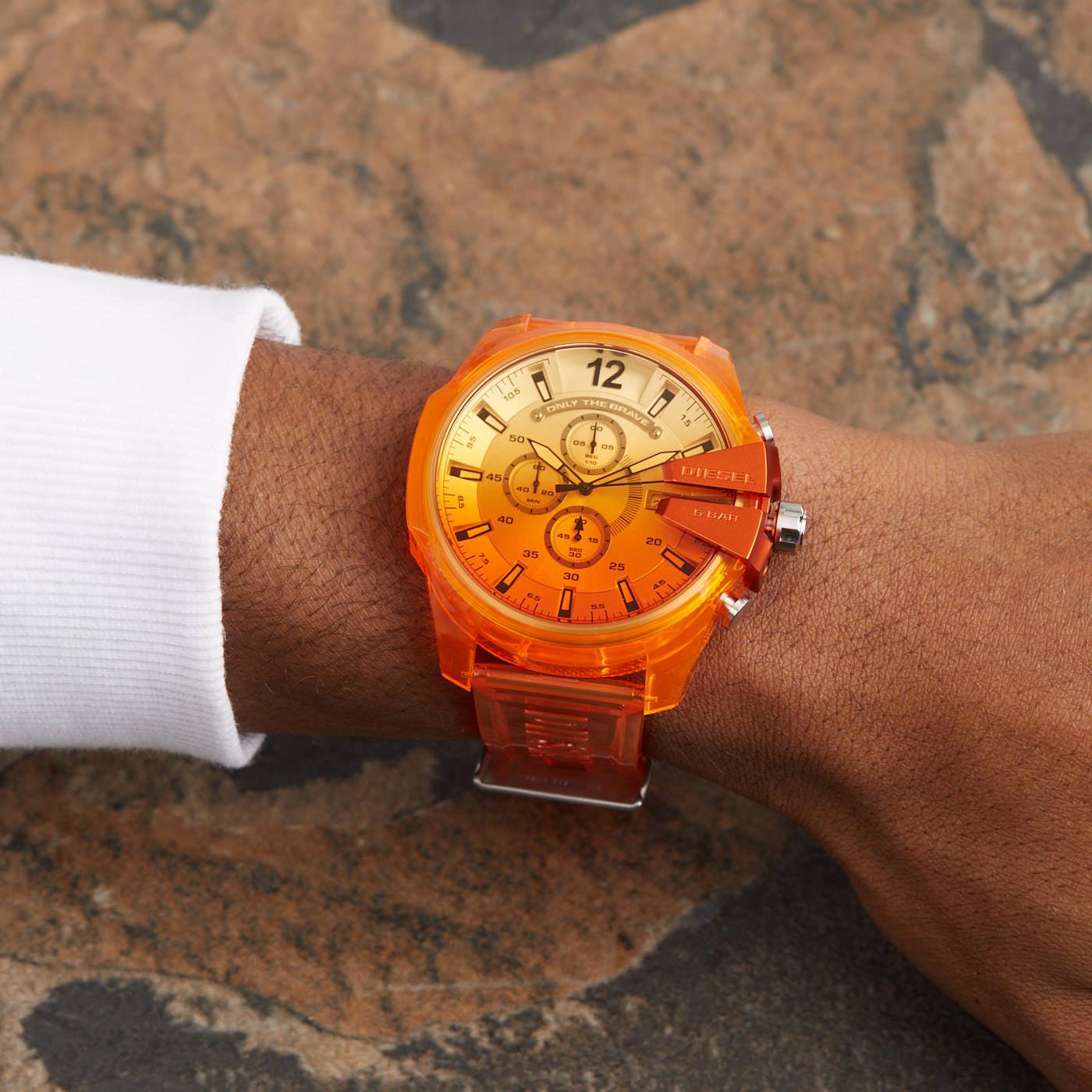 Diesel Mega Chief Chronograaf horloge DZ4533
