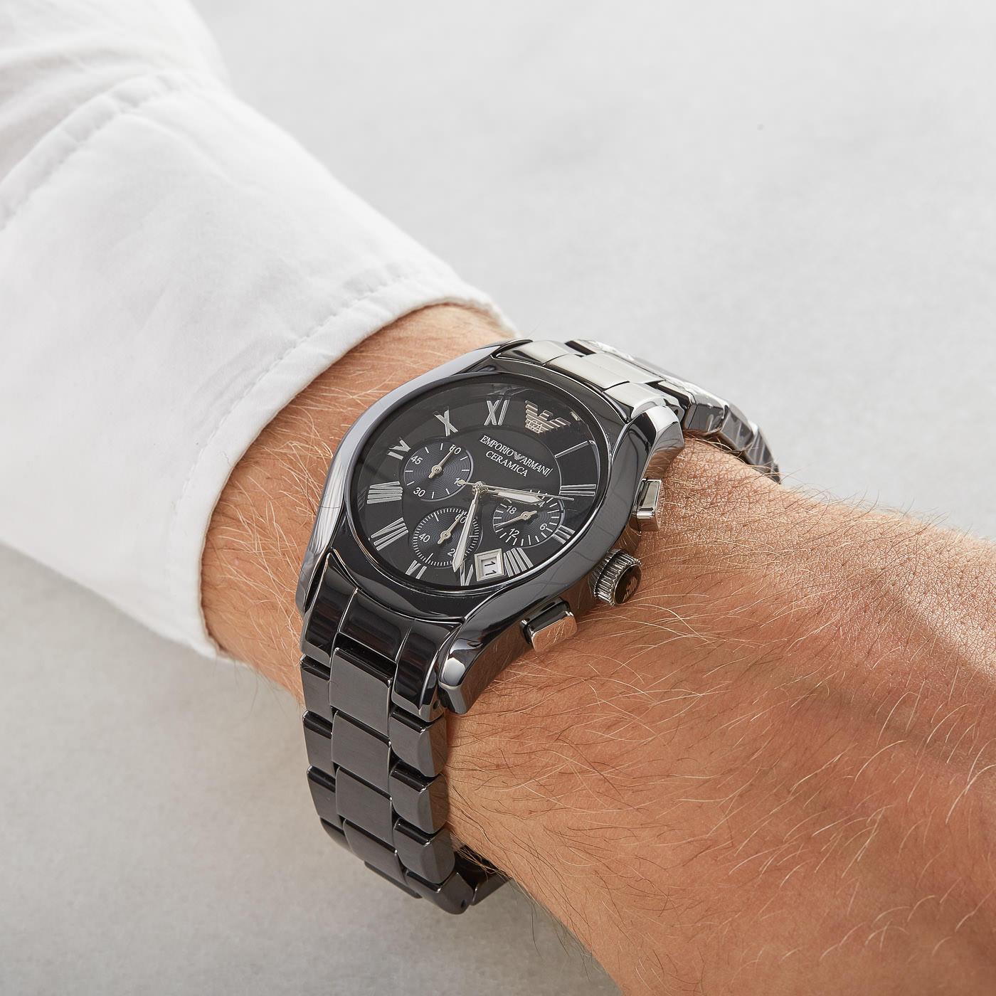 Emporio Armani Ceramics horloge AR1400