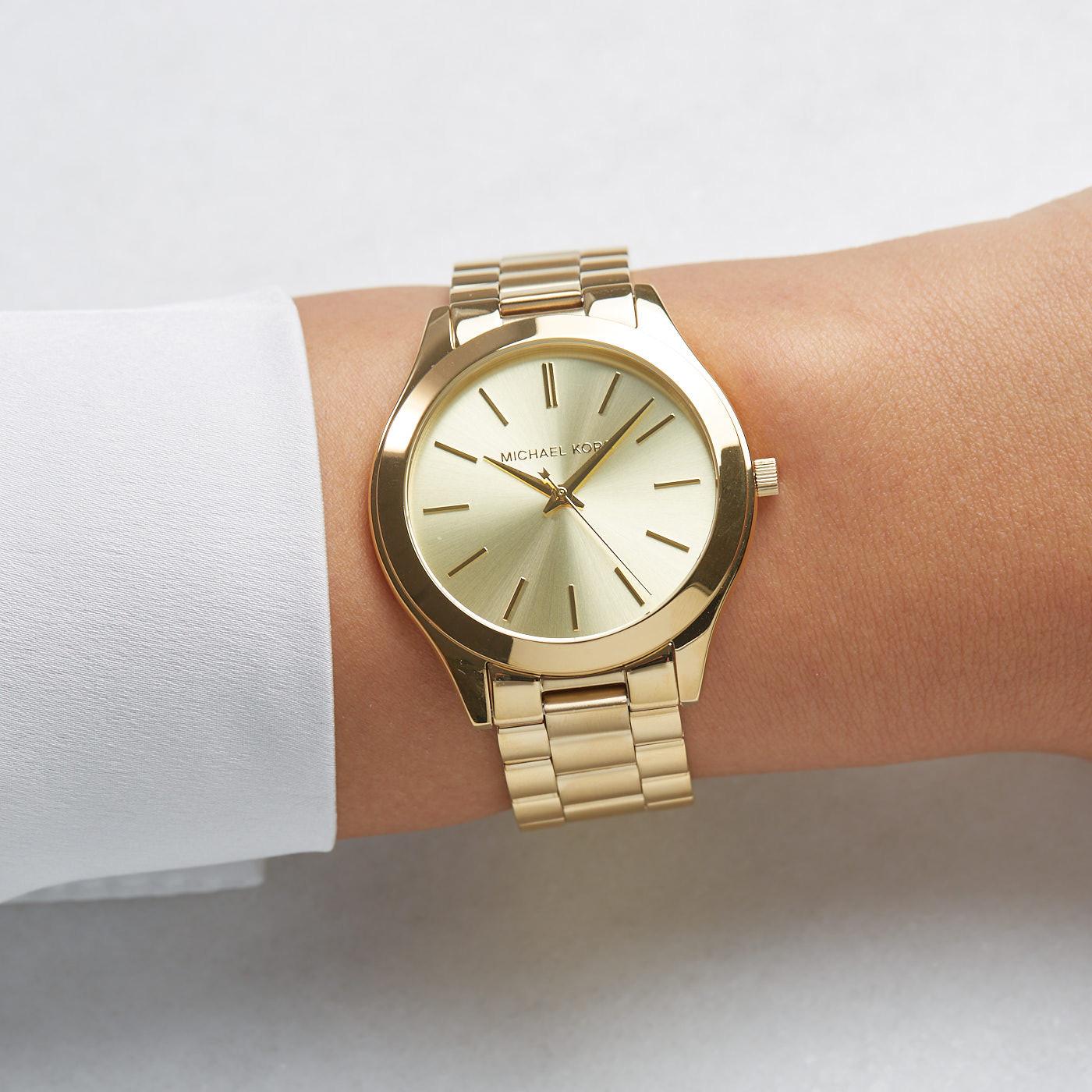 Michael Kors Slim Runway horloge MK3179