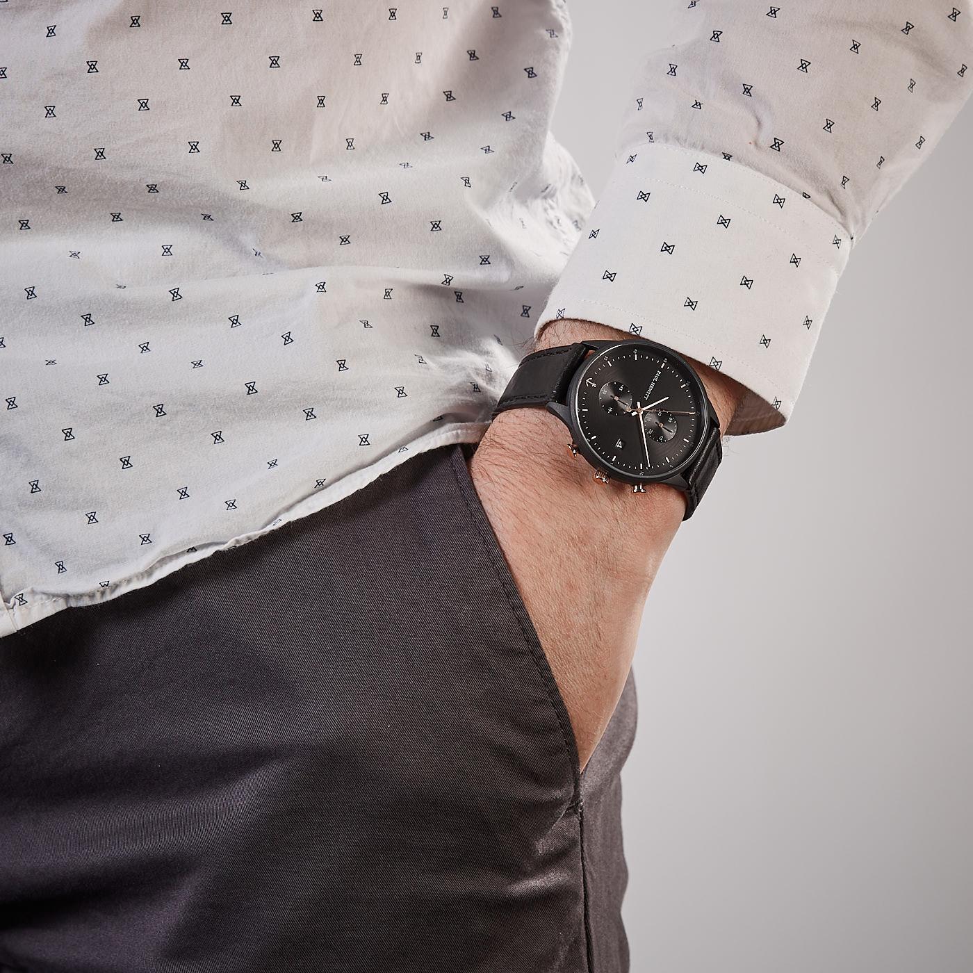 Paul Hewitt Chrono Line horloge PH-C-B-BSR-2M