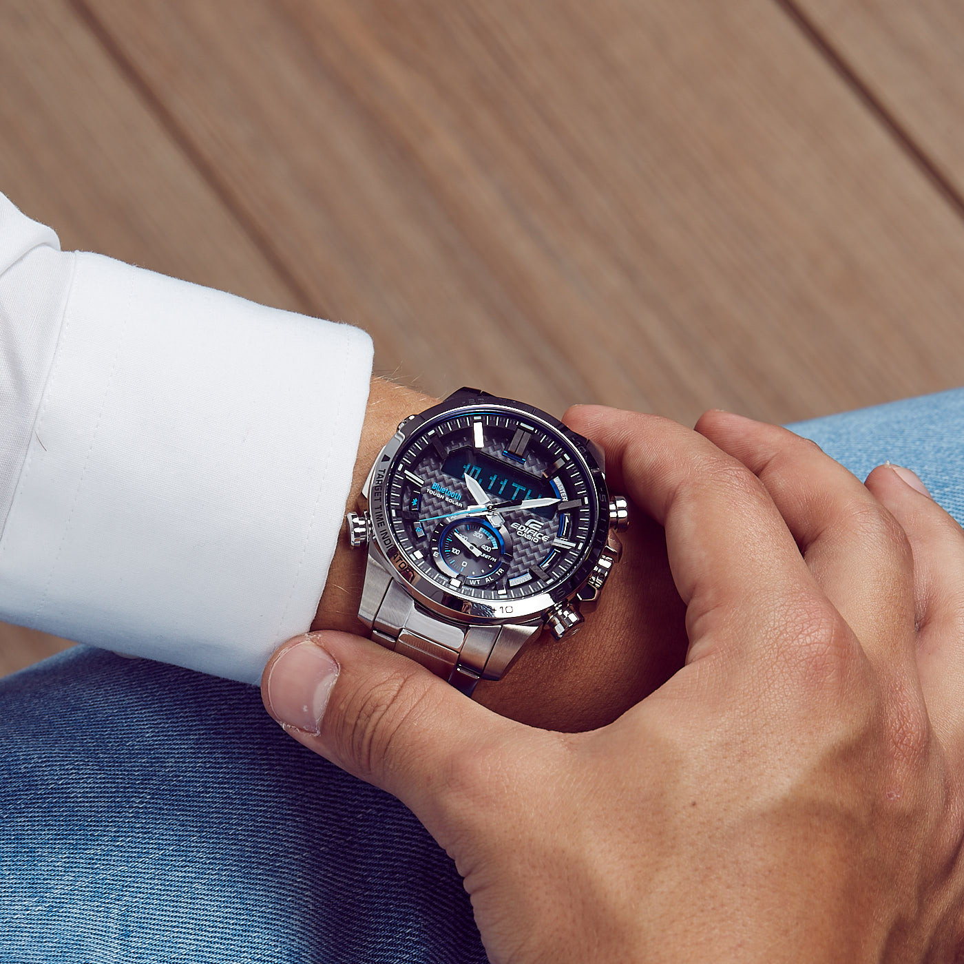 Edifice Bluetooth Connected Race Chrono horloge ECB-800D-1AEF