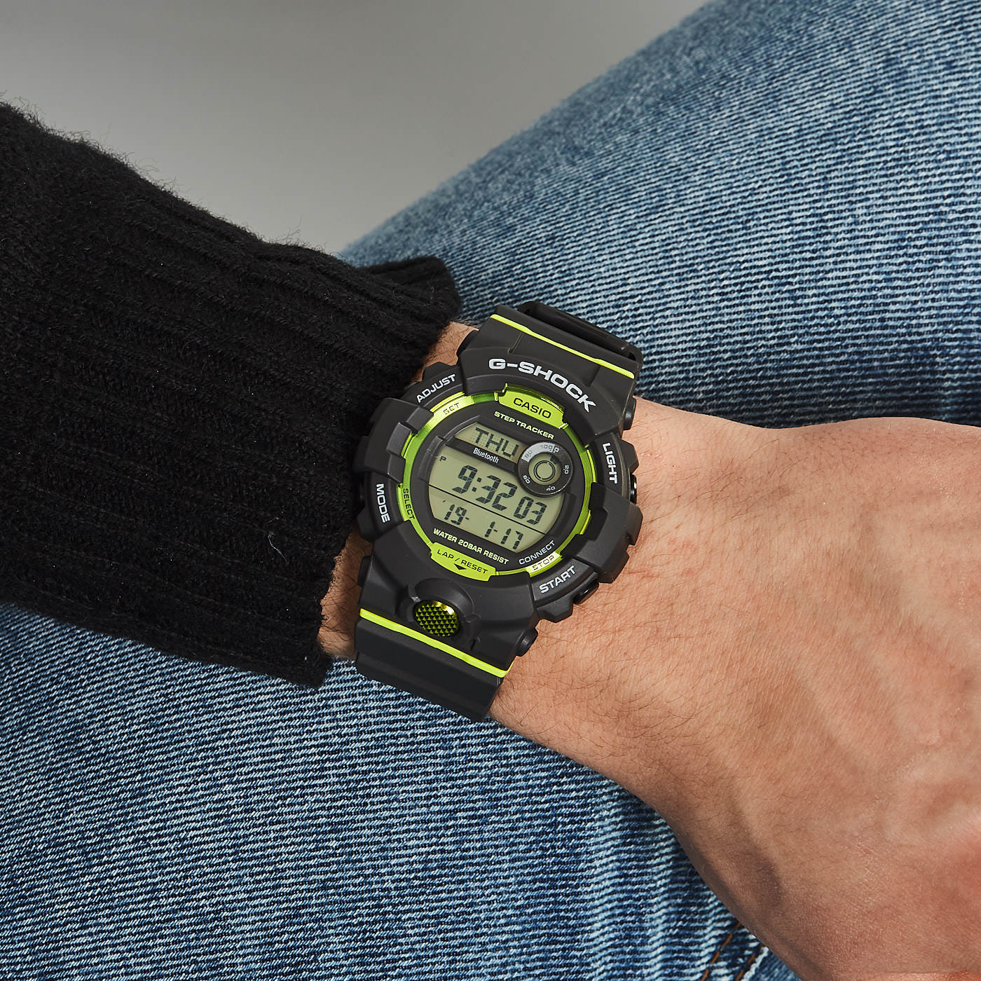 G-Shock G-Squad Stepcounter Bluetooth Connected horloge GBD-800-8ER