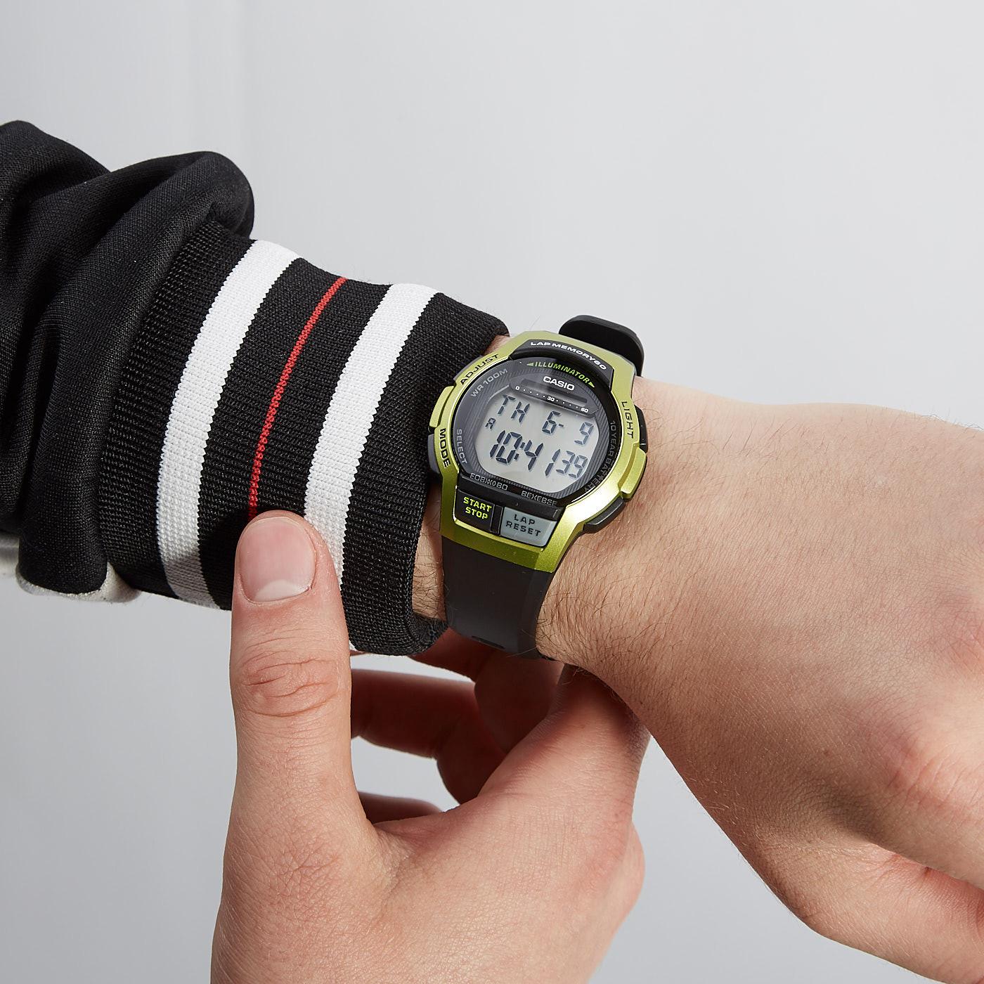 Casio Collection horloge WS-1000H-3AVEF