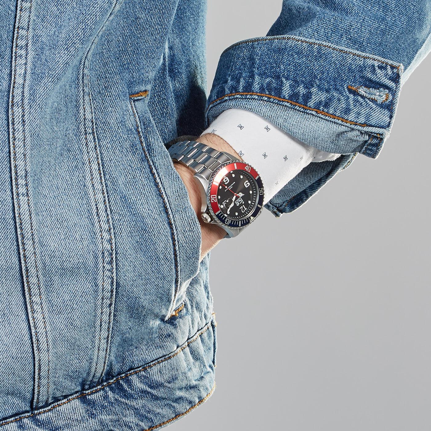 Ice-Watch ICE-Steel Zilverkleurig horloge IW016547 (44 mm)
