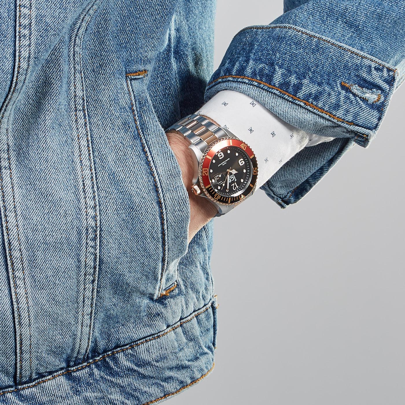 Ice-Watch ICE-Steel Bicolor horloge IW016548 (44 mm)