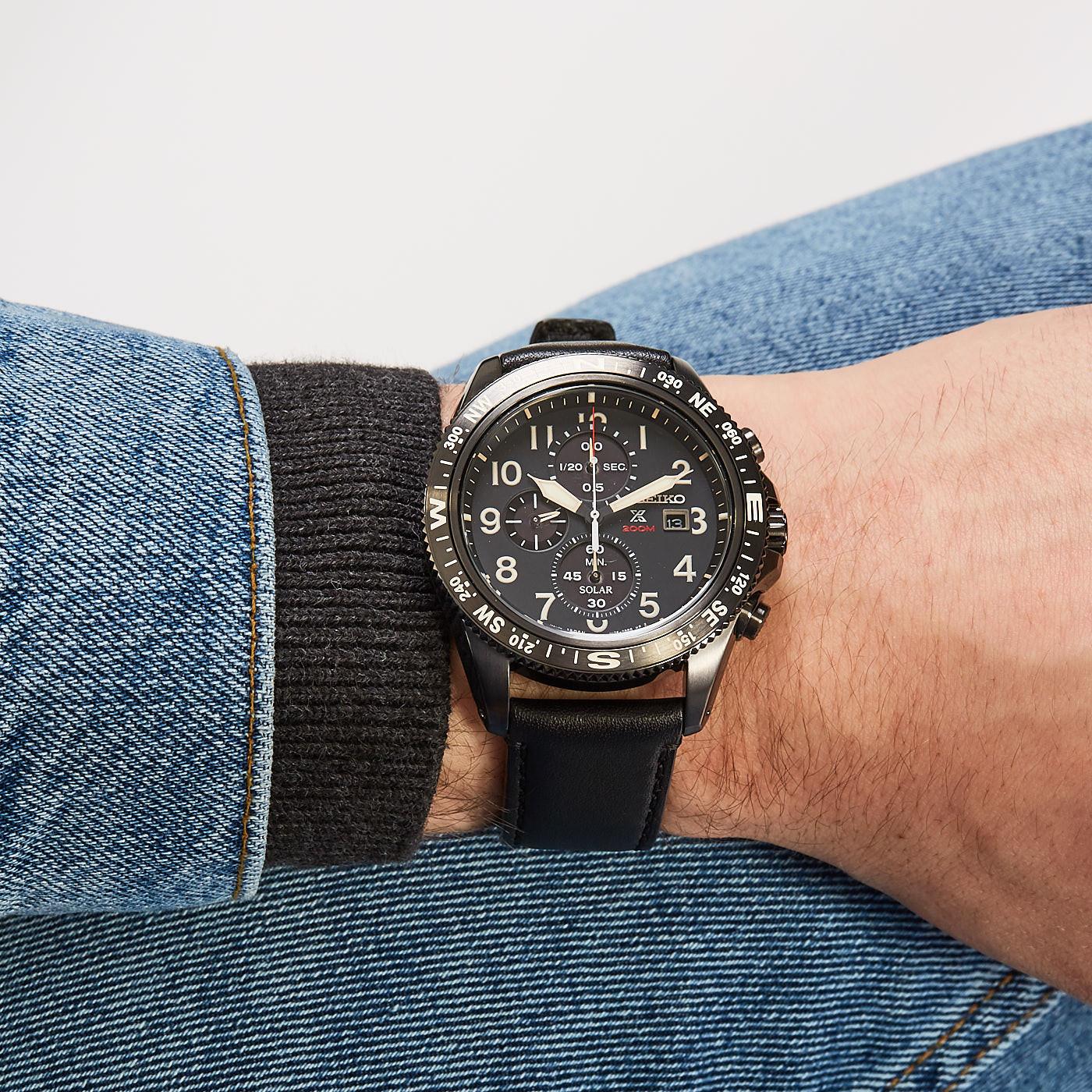 Seiko Prospex Solar Chrono horloge SSC707P1