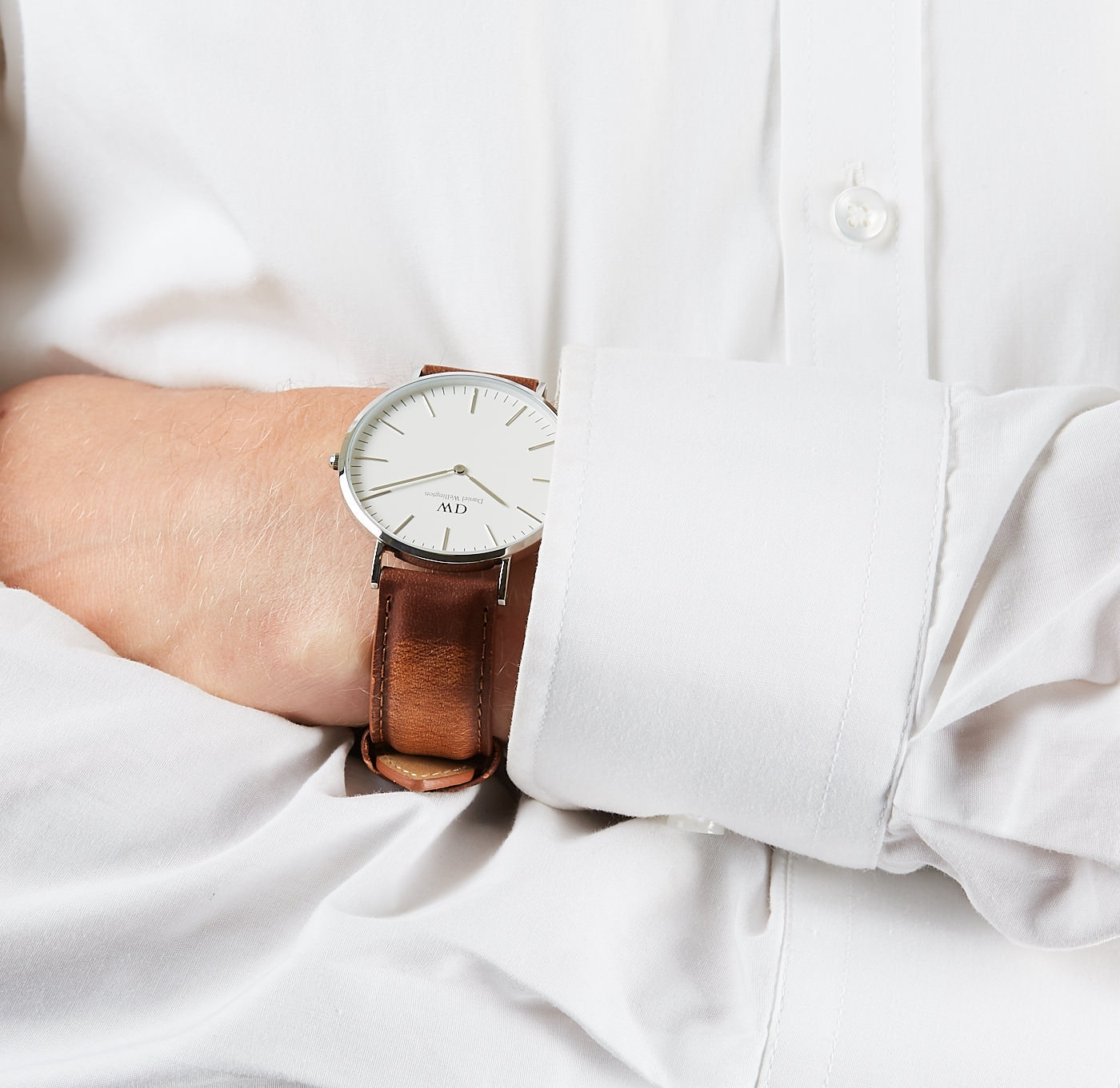 a5cc731a8ef8b3 Daniel Wellington Classic Durham horloge DW00100110 (40 mm)