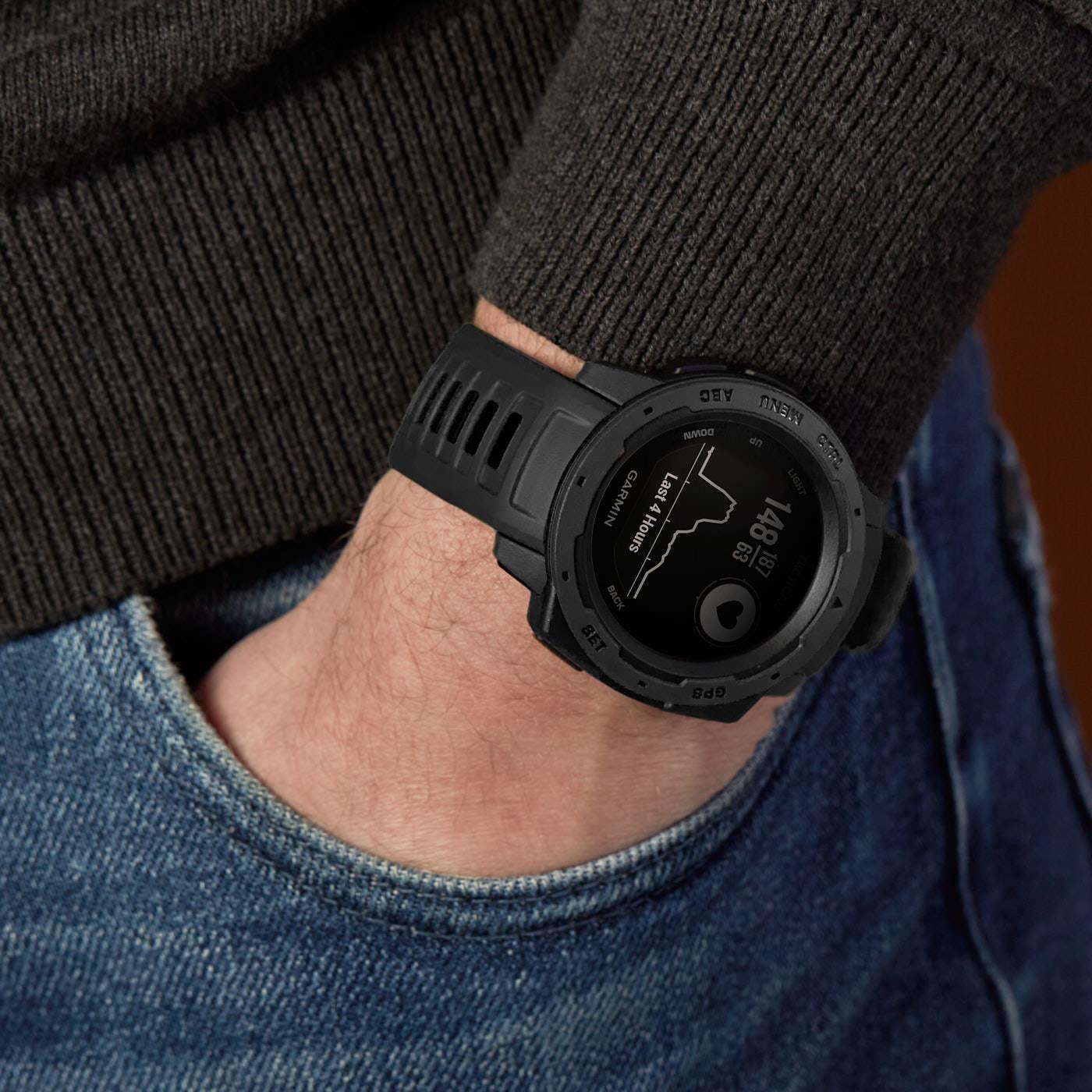Garmin Instinct Tactical Chrono Smartwatch 010-02064-70