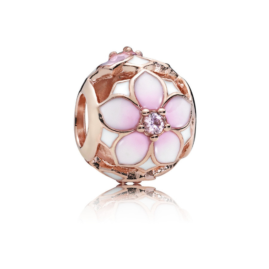 Pandora Moments Zilveren Magnolia Bloom Bedel 782087NBP
