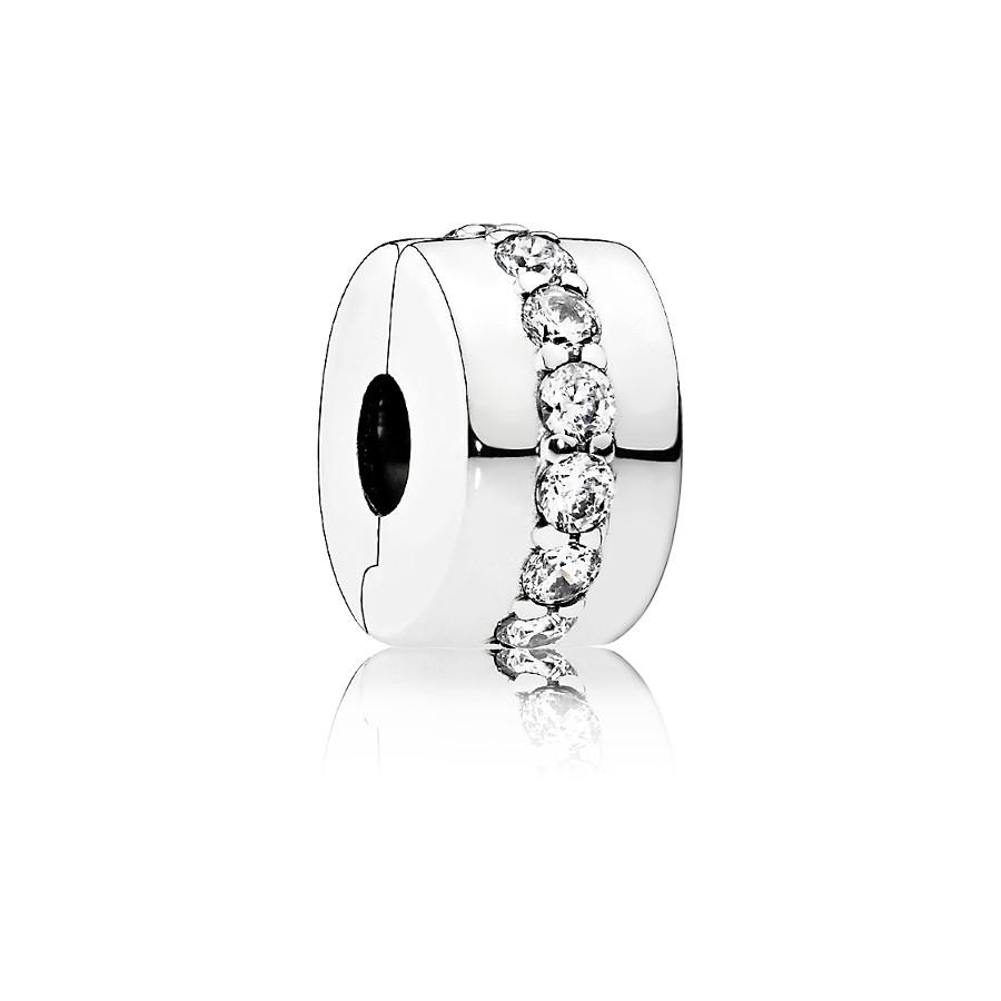 Pandora Zilveren Zirconia Bedel 791972CZ