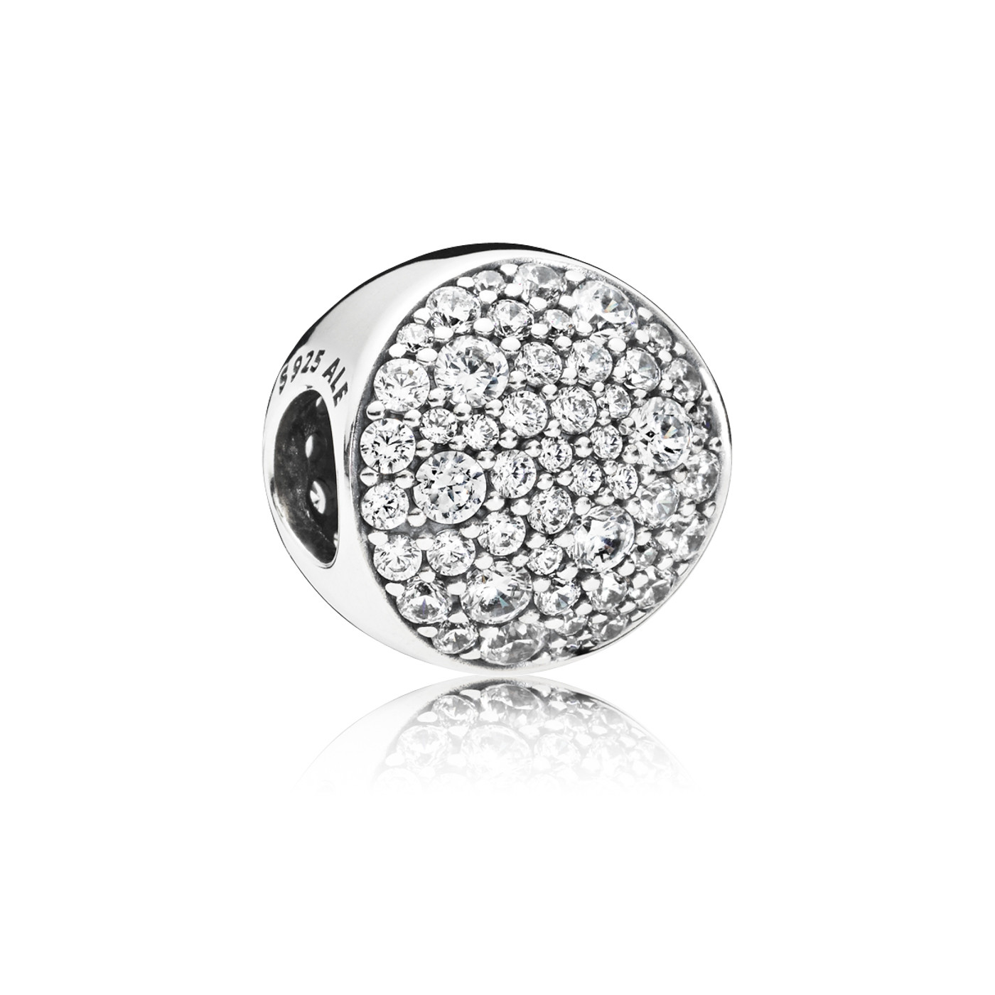 Pandora 925 Sterling Zilveren Abstract Pave Bedel 797540CZ