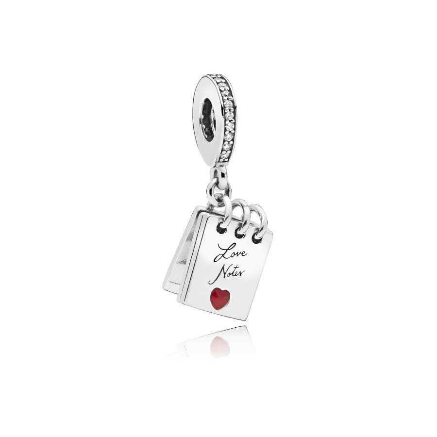 Pandora 925 Sterling Zilveren Love Notes Bedel 797835CZ