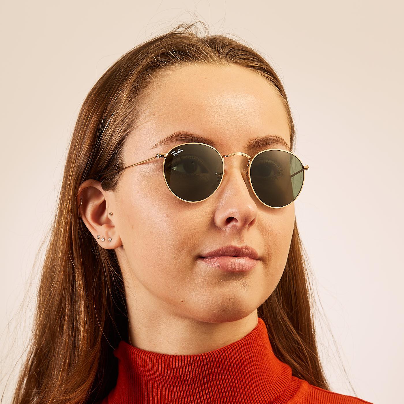 Ray-Ban Round Metal zonnebril RB3447 47 001