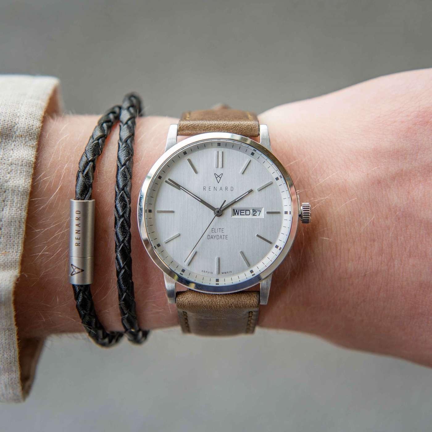 Renard Elite Day Date horloge RD381SS10OGR