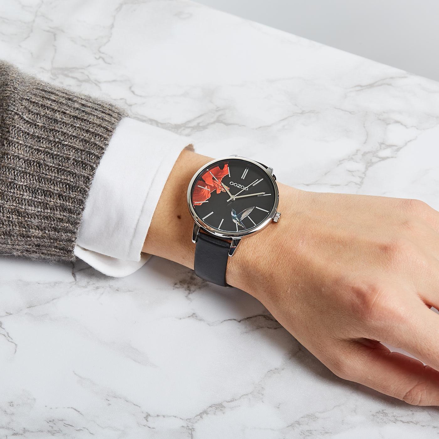 OOZOO Timepieces Zwart C9764 (42 mm)