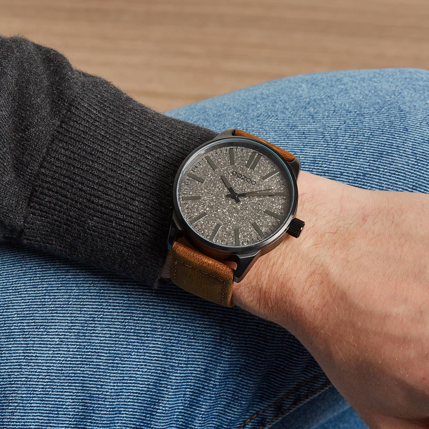 OOZOO Grijs horloge C9062