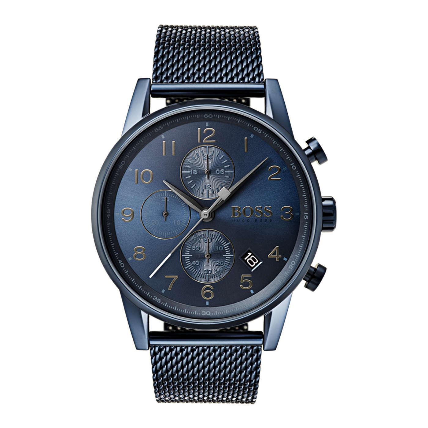 Hugo Boss Black Navigator Chronograaf horloge HB1513538