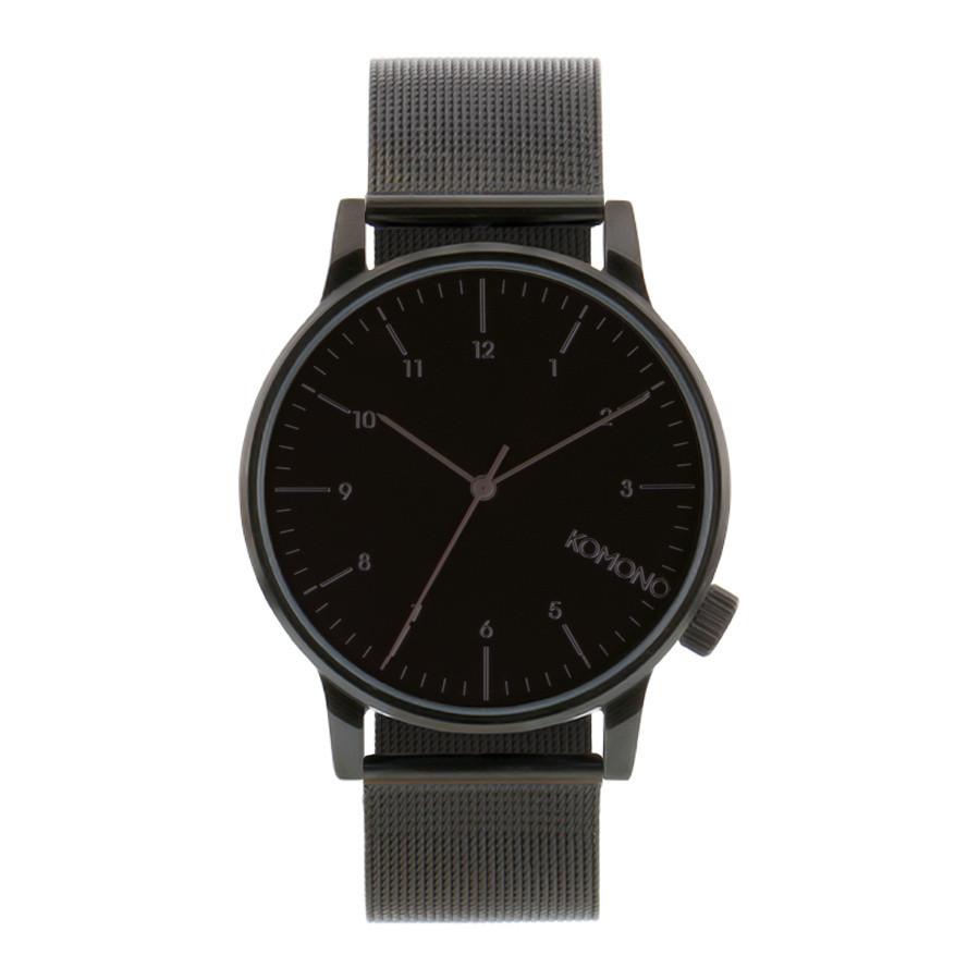 Komono Winston Royale Black horloge KOM-W2352