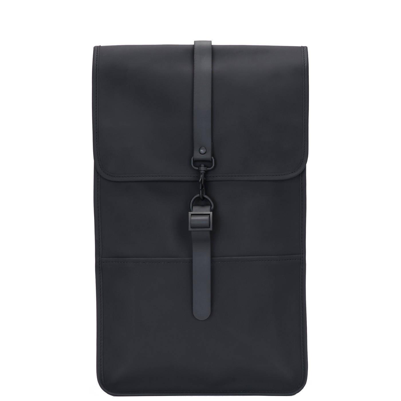 Rains Backpack Black Rugzak R1220-01