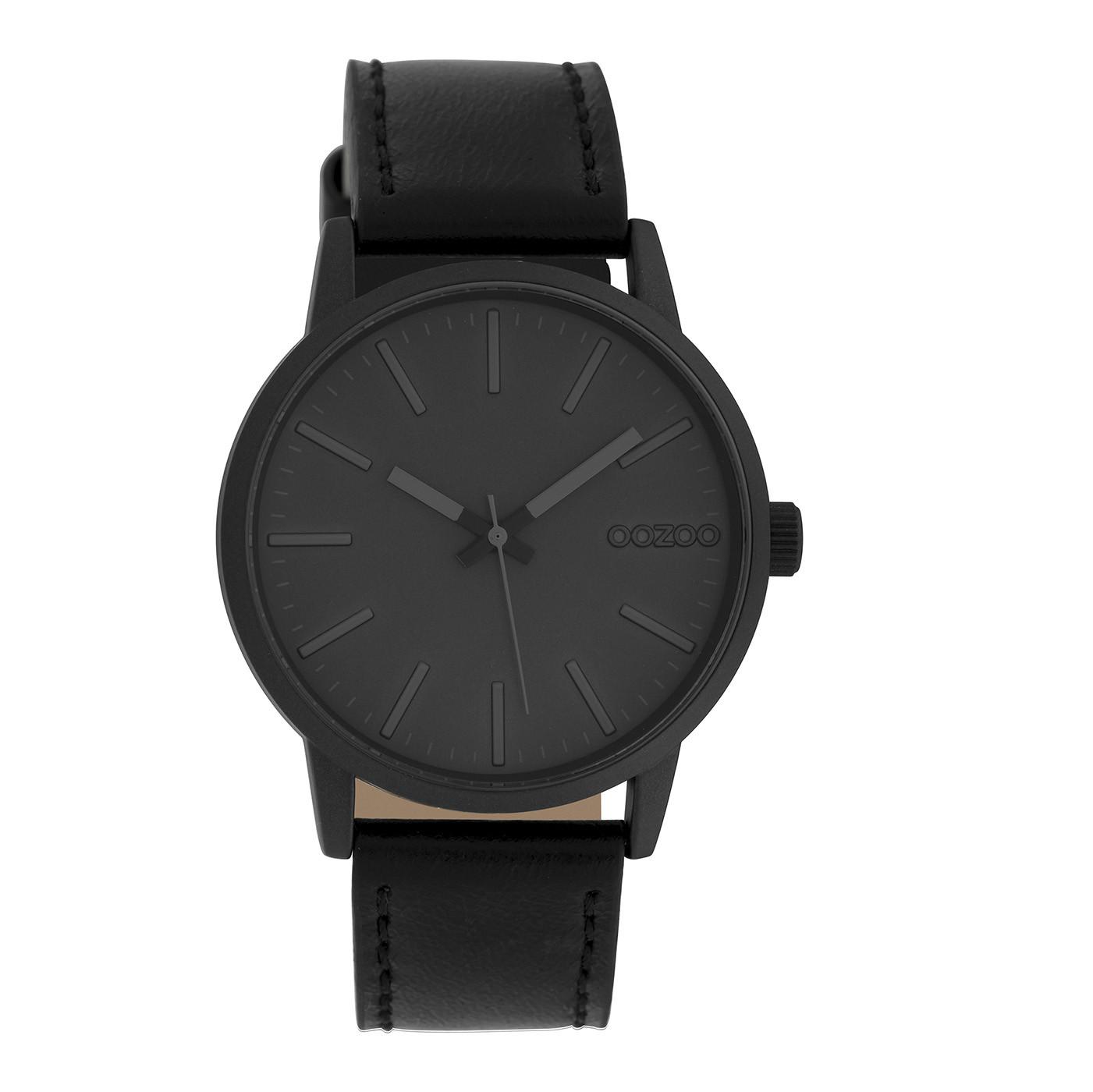 OOZOO Timepieces Zwart horloge C10019 (40 mm)