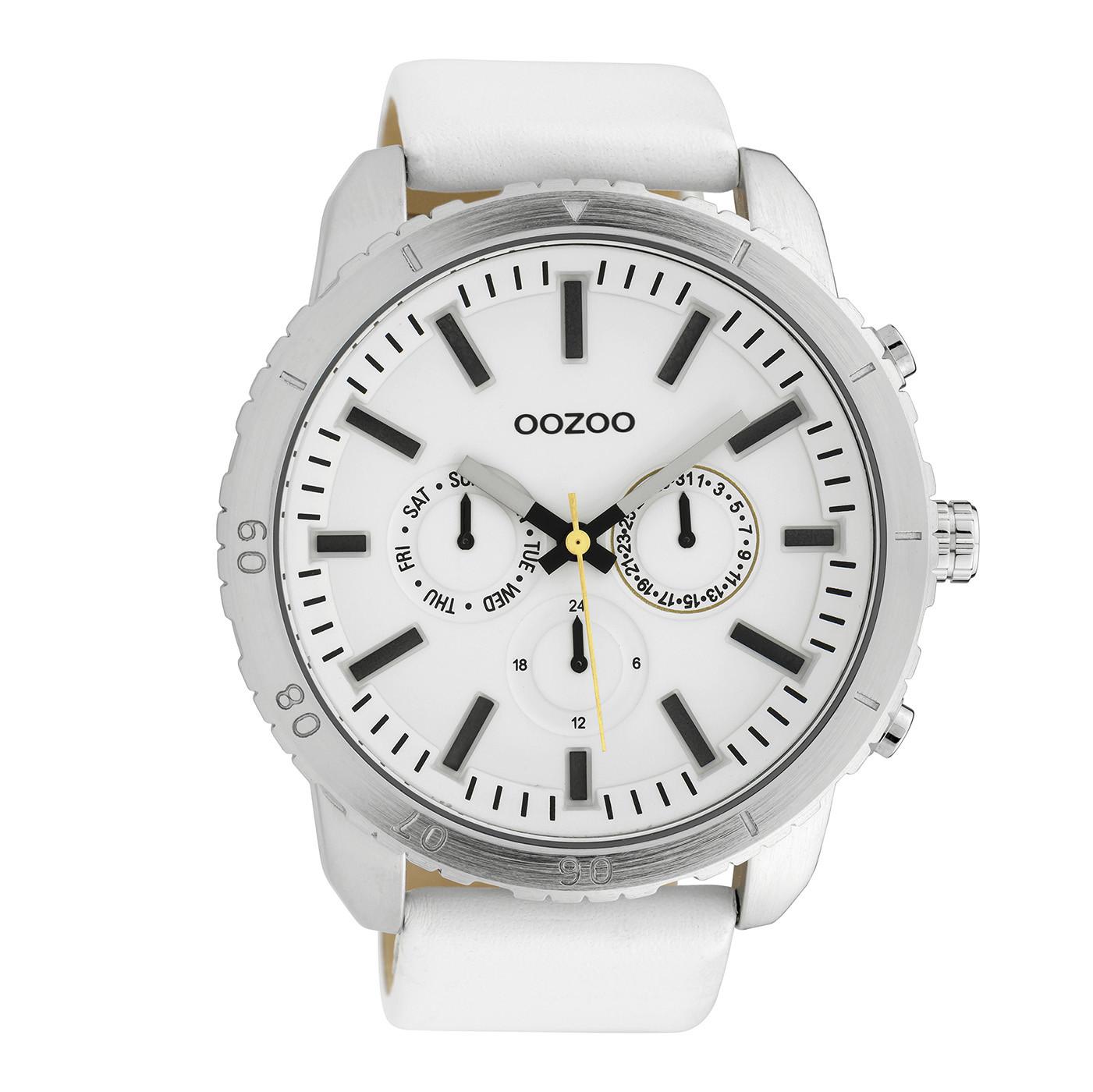 OOZOO Timepieces Wit horloge C10059 (51 mm)