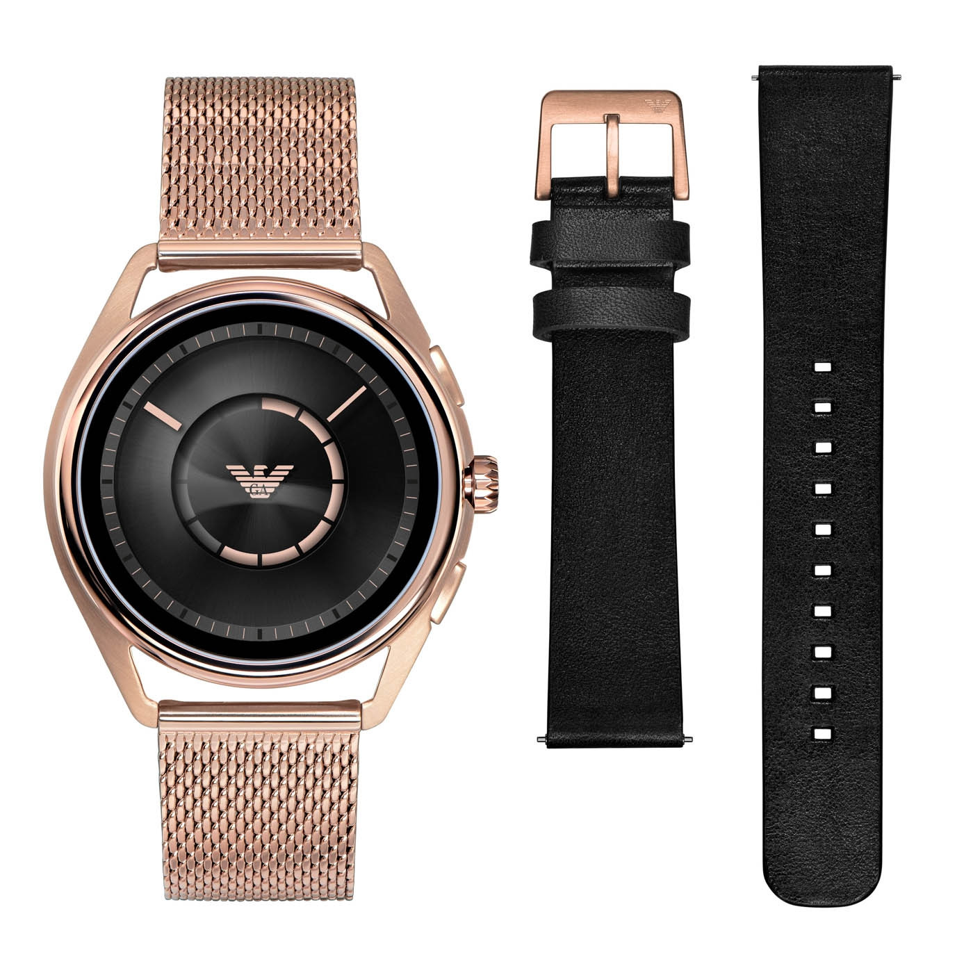 Emporio Armani Connected Matteo Gen 4 Display Smartwatch Giftset ART9005