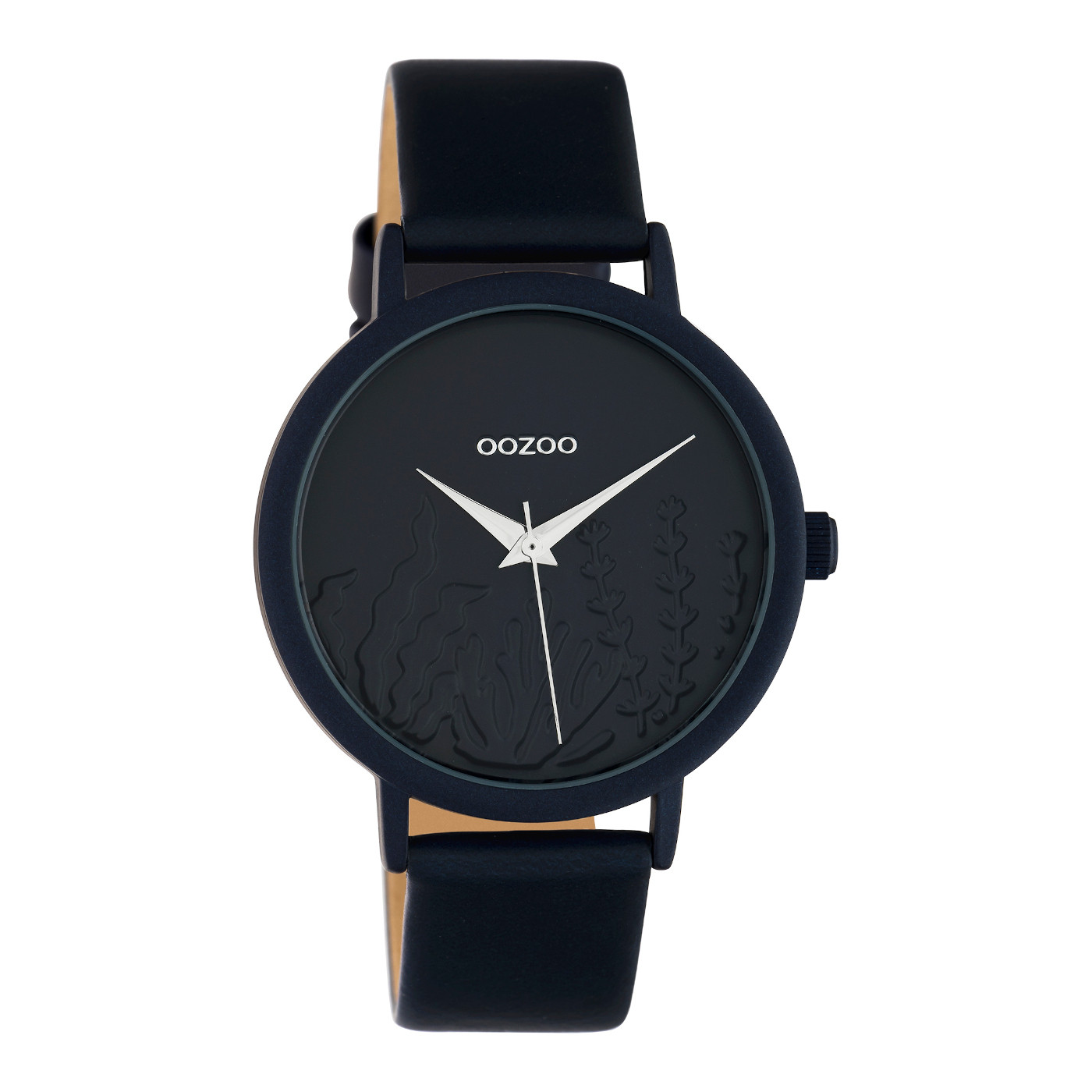 OOZOO Timepieces Blauw horloge C10607