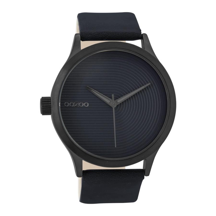 OOZOO Timepieces Blauw horloge C9432 (44 mm)