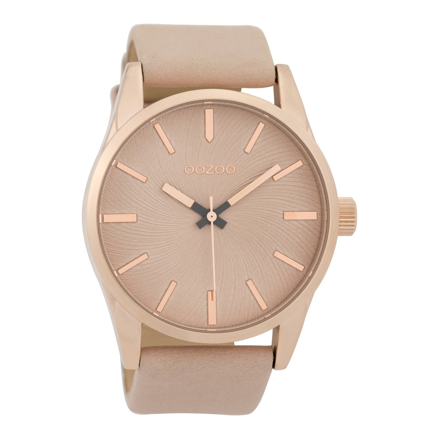 OOZOO Timepieces Pinkgrey horloge C9626 (45 mm)