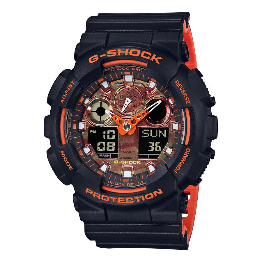 G-Shock horloge GA-100BR-1AER