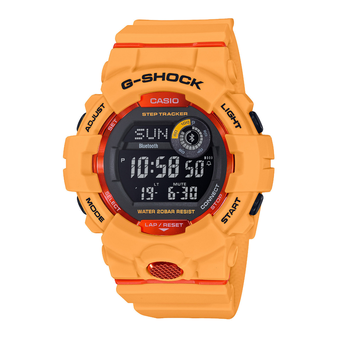 G-Shock G-Squad Stepcounter Bluetooth Connected horloge GBD-800-4ER