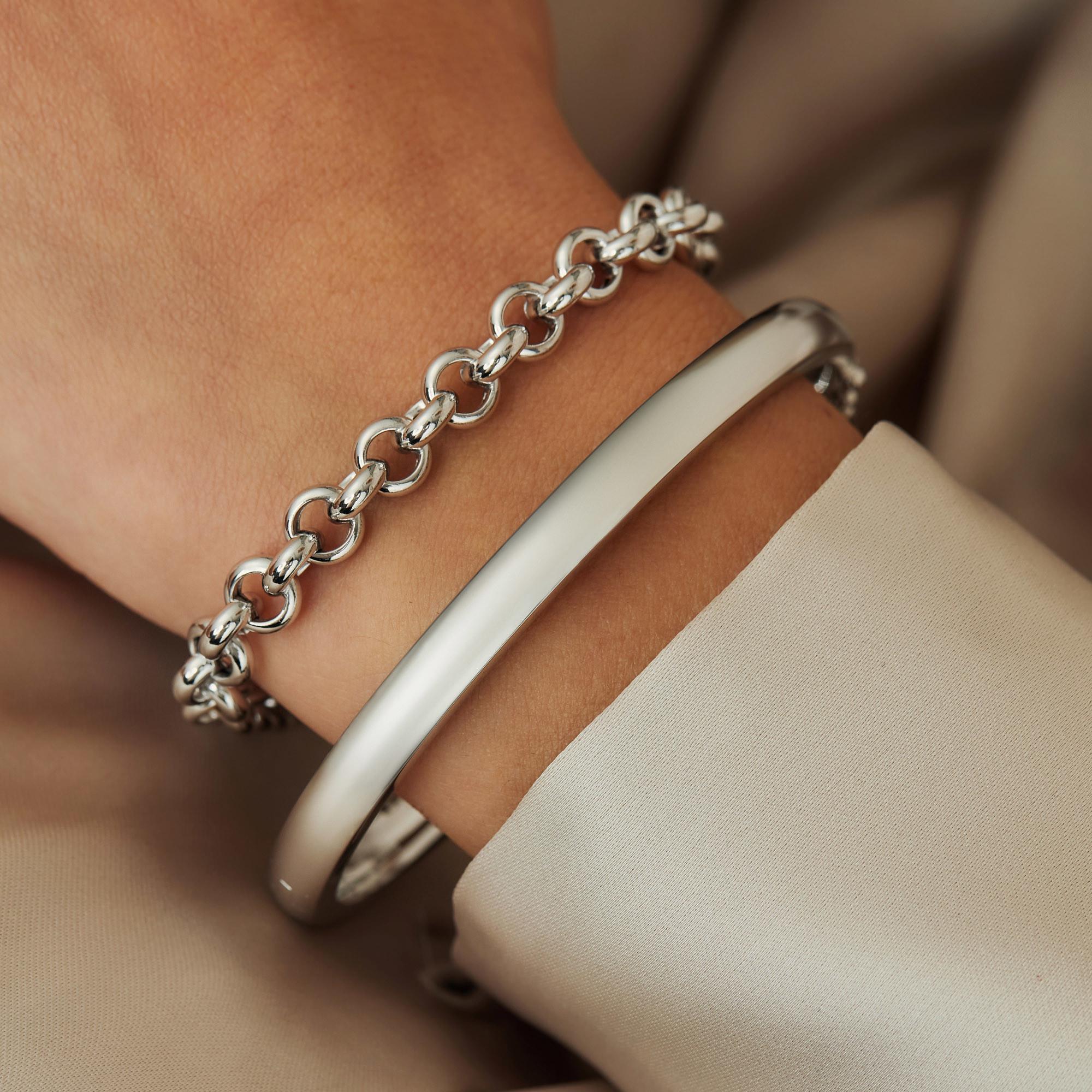 Parte Di Me 925 Sterling Zilveren Bibbiena Poppi San Fedele Armband PDM1320708