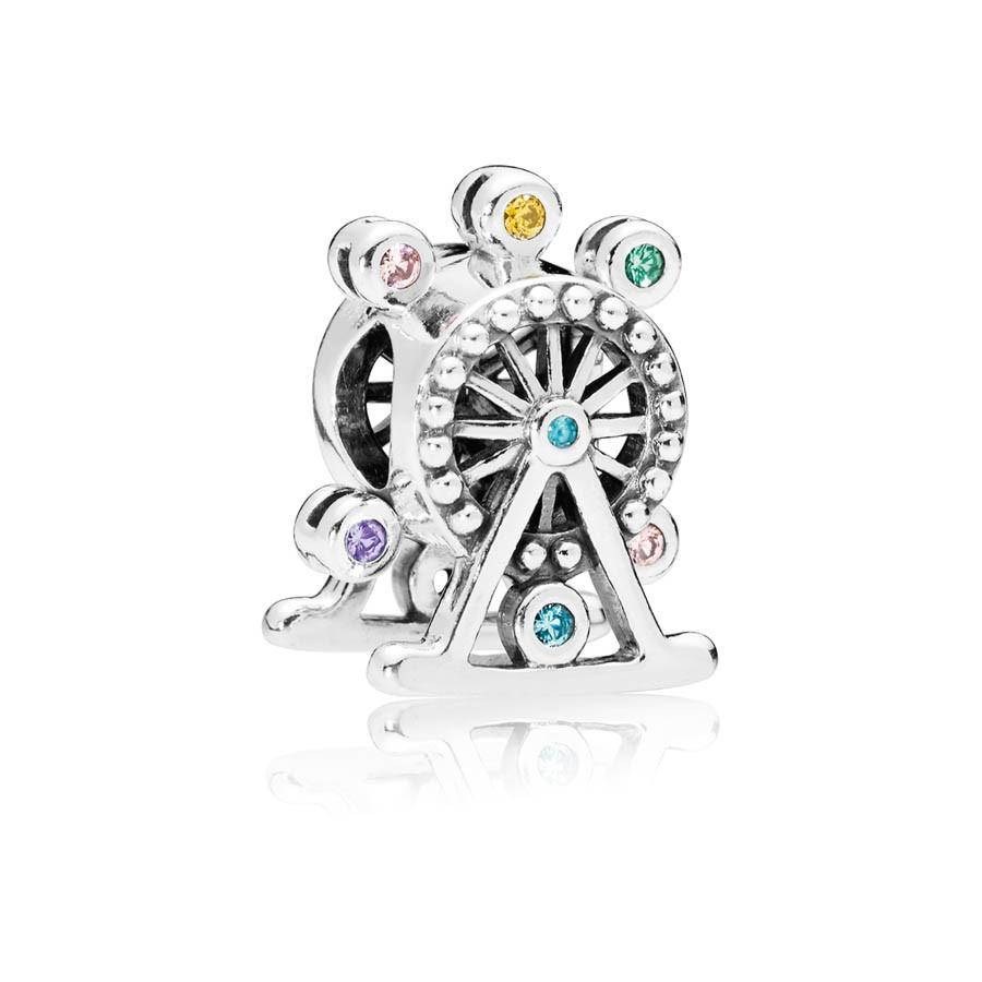Pandora Moments Zilveren Colour Wheel Bedel 797199NLCMX