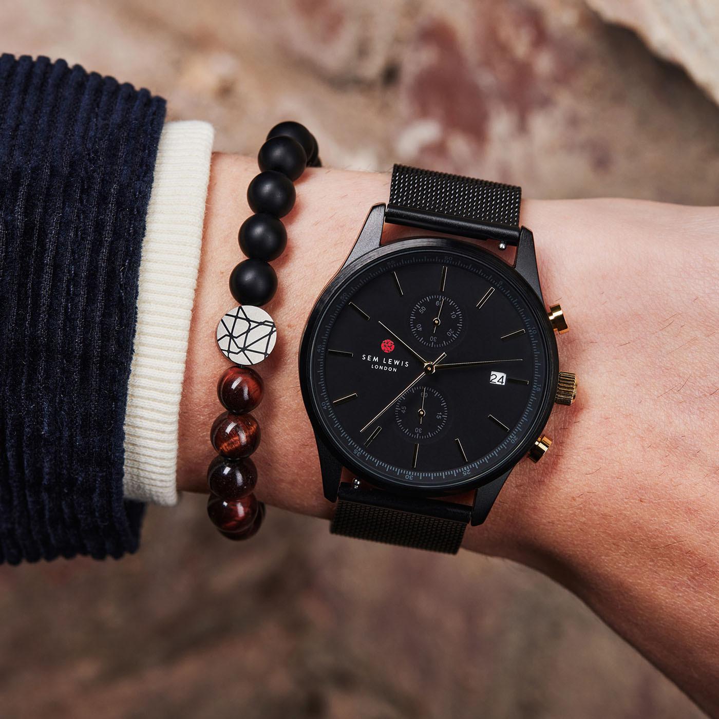 Sem Lewis Metropolitan Northwick Park Chronograph horloge SL1100024