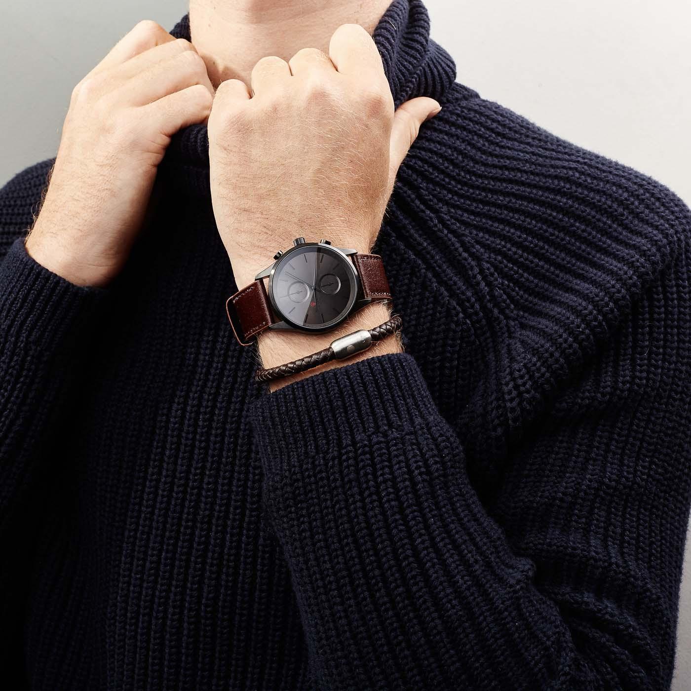 Sem Lewis Bakerloo Queen's Park Armband SL210014 (Lengte: 20.30-21.30 cm)