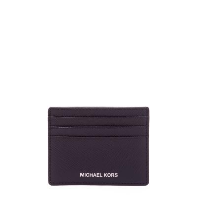Michael Kors Henry Black Card Case Portemonnee 39F6LHRD2L-001