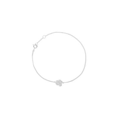 ANNA + NINA 925 Sterling Zilveren Soul Flower Armband 21-1M907001S (Lengte: 18.00 cm)