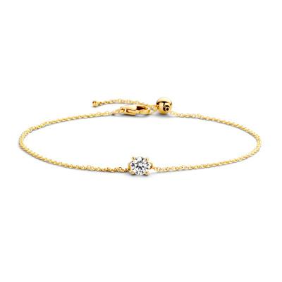 Blush 14 Karaat Gouden Armband 2166YZI (Lengte: 18.00 cm)