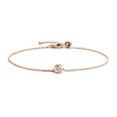 Blush 14 Karaat Gouden Armband 2167RZI (Lengte: 18.00 cm)