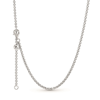 Pandora Icons 925 Sterling Zilveren Rolo Chain Necklace 399260C00-60